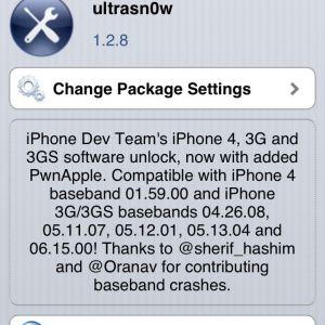 Анлок iphone 3gs та 4 на ios 6.1 за допомогою ultrasn0w