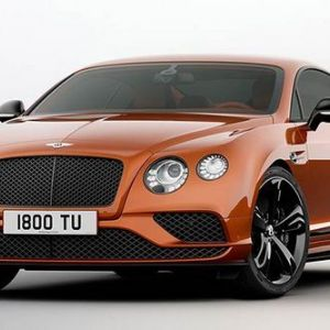 Bentley continental gt speed 2017 року