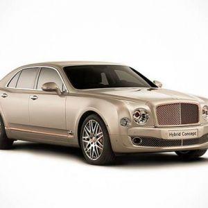 Bentley hybrid concept - гібридна еліта