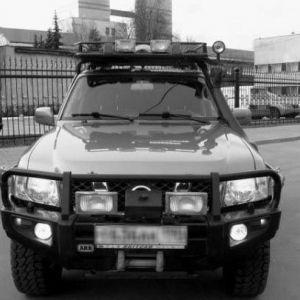 Брутальний позашляховик # 2 - nissan patrol