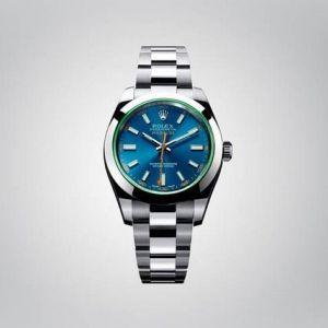 Сині годинник rolex milgauss z