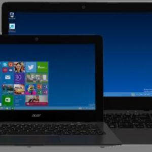 Два нових ноутбука aspire one cloudbook від acer