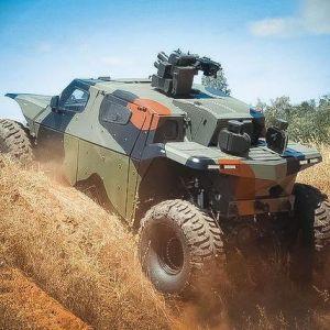 Combat guard 4 4 - броньований всюдихід