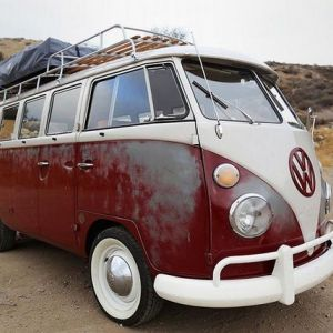 Фургон icon derelict vw camper 1967 року
