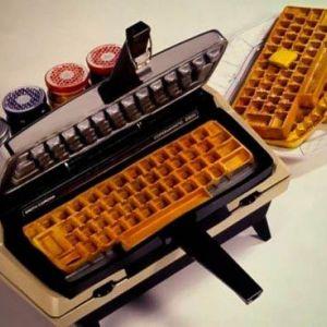 Клавіатура-вафельница
