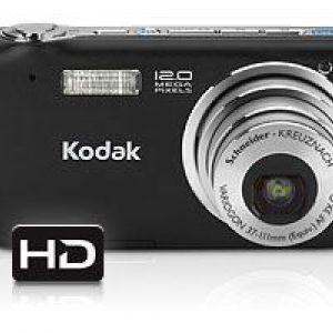 Kodak - нові представники сімейства easyshare: цифрові камери v1233 і v1253 c можливістю зйомки hd-відео.