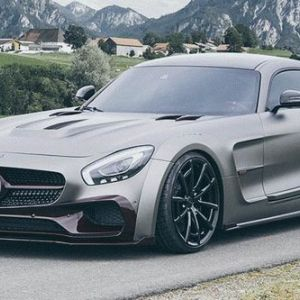 Mercedes-amg gt s 2016 року mansory