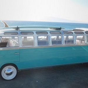 Мікроавтобус volkswagen stretch 1965 року