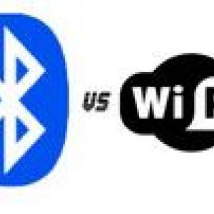 Основні відмінності між wi-fi і bluetooth