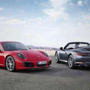 Porsche 911 carrera 2017 року