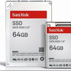 Sandisk звинувачує windows vista в повільності ssd