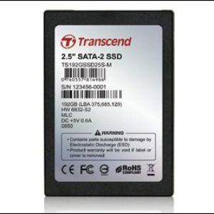 Transcend випускає ssd-накопичувач на 192 гігабайт