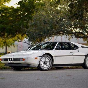 Виставлено на аукціон: купе bmw m1 1981 року